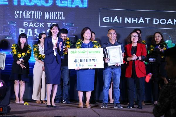 Chung kết và trao giải Startup Wheel 2020